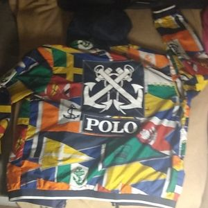 Polo raulph lauren newport flag windbreaker